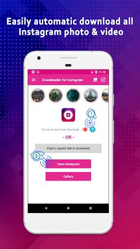 Video Downloader for Instagram & IGTV modavailable screenshots 1