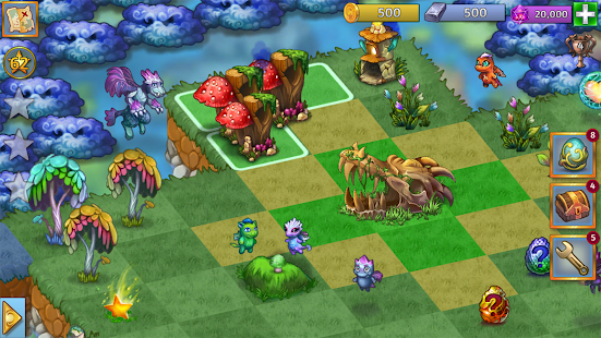 Merge Dragons! Screenshot