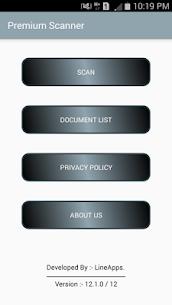 Premium Scanner: PDF Doc Scan [Paid] APK 1
