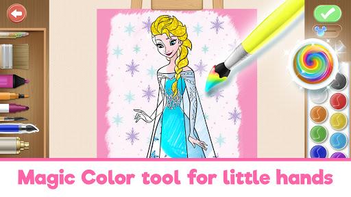 Disney Coloring World - Drawing Games for Kids 8.1.0 screenshots 22