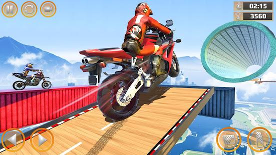 Mega Ramp Impossible Tracks Stunt Bike Rider Games 3.4.2 Screenshots 1