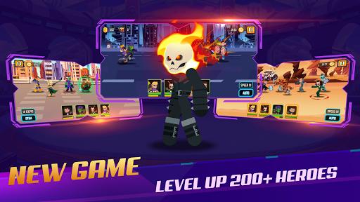 Stickman Super Heroes - Stick Battle Arena Fight screenshots 13