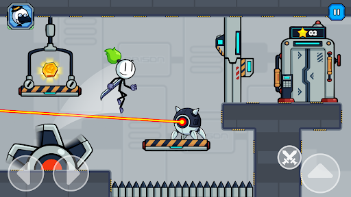 Stick Fight - Prison Escape Journey of Stickman  screenshots 1