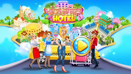Rich Girls Hotel - Shopping Games & Vacation 1.2 screenshots 1