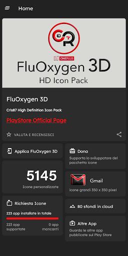 FluOxigen 3D - Icon Pack