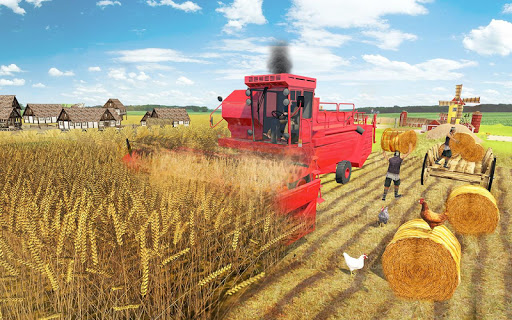 Real Farming Tractor Farm Simulator: Tractor Games screenshots 7
