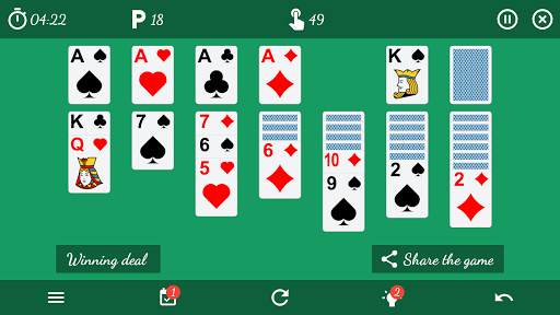 Solitaire Free Game 5.9 Screenshots 8
