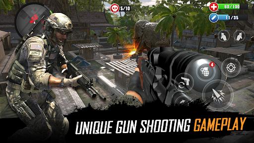 FPS Commando Strike Mission: Shooting Gun Games  screenshots 11