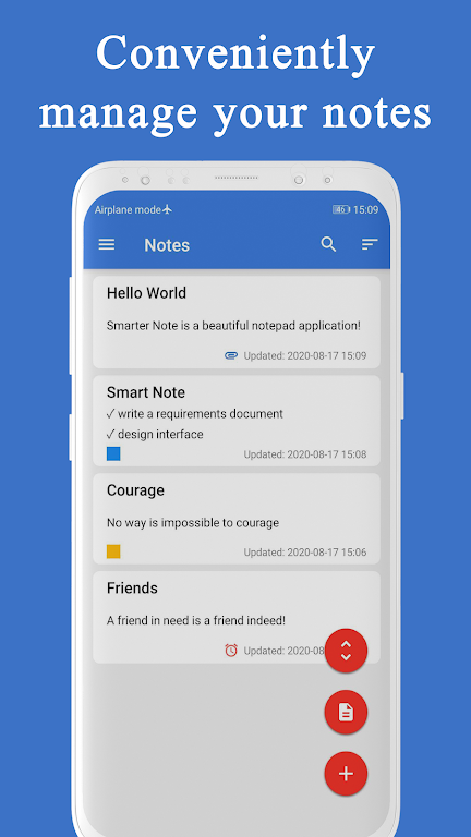 Smart Note - Notes, Notepad, Todo, Reminder, Free  poster 1