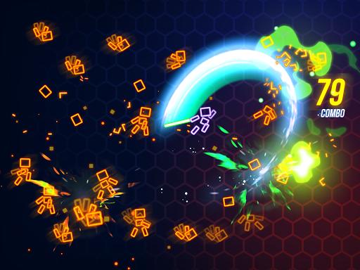 Ninja Slice Master : Stickman Neon Action  screenshots 8