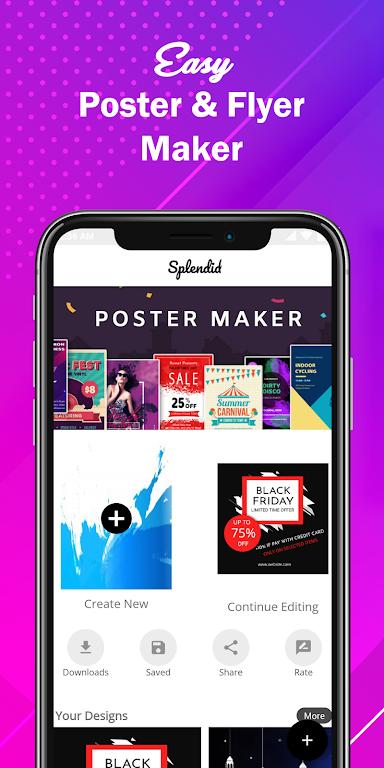Poster Maker Flyer Maker 2020 free graphic Design  poster 9