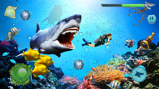 Angry Shark Attack - Wild Shark Game 1.0.14 screenshots 7