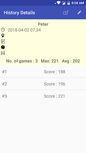 My Bowling Scoreboard android2mod screenshots 8