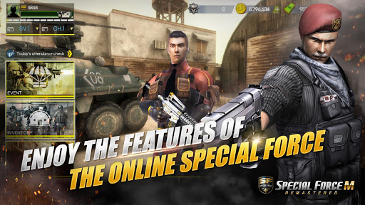 Special Force M : Remastered
