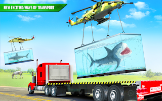 Sea Animals Transport Truck Driving Simulator