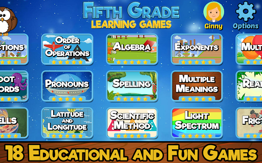 Fifth Grade Learning Games  apktcs 1