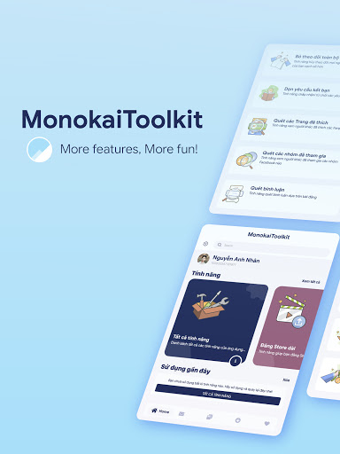 MonokaiToolkit - Super Toolkit for Facebook Users  Screenshots 6