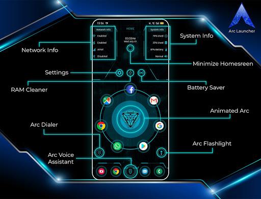 Download APK: ARC Launcher 2021 3D Launcher,Themes,App Lock,DIY v45.6 [Premium]