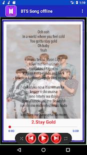 BTS Song Offline - Life goes on(Lyrics)