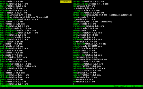 Termux Screenshot