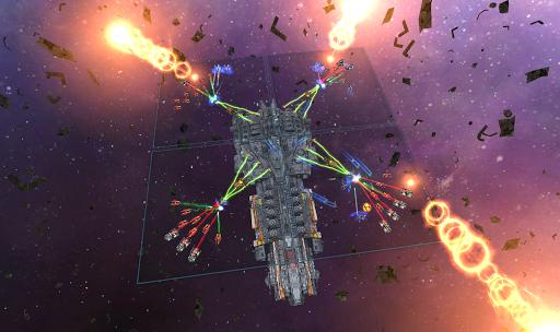 Space Ships WAR: Unique TD Battles apkpoly screenshots 8