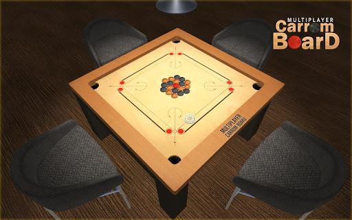 Multiplayer Carrom Board : Real Pool Carrom Game  screenshots 8