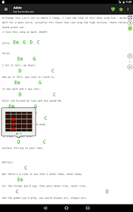 Guitar chords and tabs 2.2.8 Screenshots 7