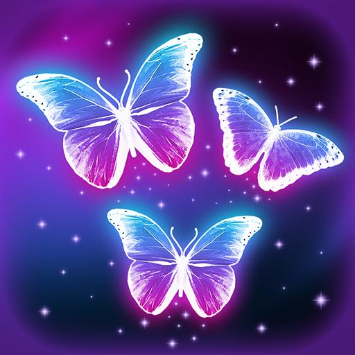 لمسة سحرية خلفية حية مع الفراشات التطبيقات على Google Play