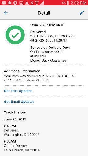 USPS MOBILE®  screenshots 3