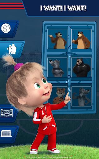 Masha and the Bear: Football Games for kids Apkfinish screenshots 23