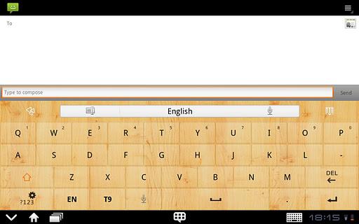 GOKeyboard WoodGraintheme(Pad) For PC Windows (7, 8, 10, 10X) & Mac Computer Image Number- 5