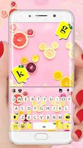 Fruity Messenger Keyboard Theme 1