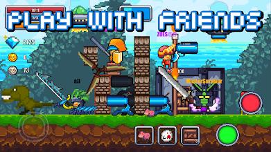 Pixel Survival World - Online Action Survival Game screenshot thumbnail