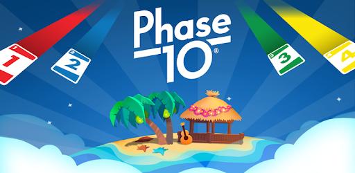 Screenshot of Phase 10 World Tour