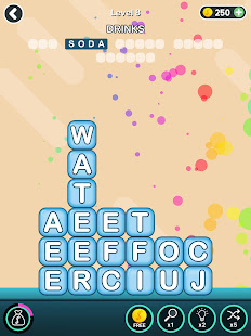 Word Blocks Connect Stacks: Word Search Crush Game