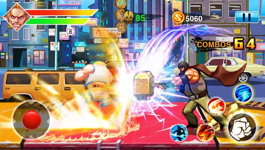 Captura de Pantalla 2 de Street Fighting 4 para android