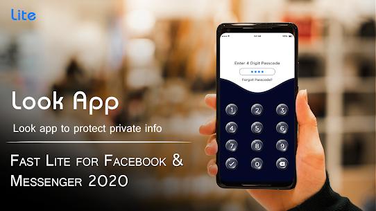Fast Lite for Facebook & Messenger 2020 4