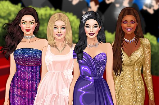 Red Carpet Dress Up Girls Game 1.4 Screenshots 1