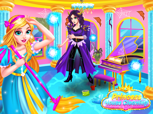 Princess Castle House Cleanup - Cleaning for Girls  screenshots 1
