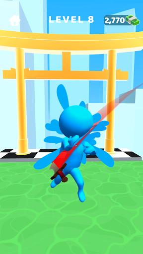 Sword Play! Ninja Slice Runner 3D  screenshots 1