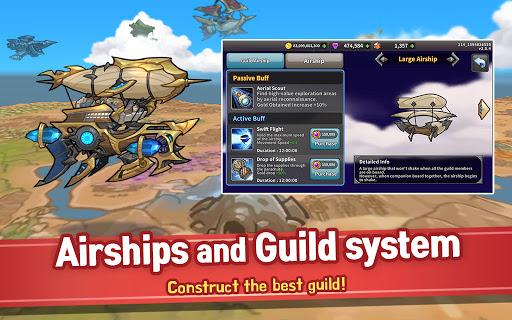 Raid the Dungeon : Idle RPG Heroes AFK or Tap Tap Apkfinish screenshots 22