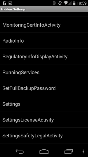 Hidden Android Settings For PC Windows (7, 8, 10, 10X) & Mac Computer Image Number- 6