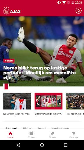 ajax official app screenshot 1
