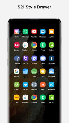 Galaxy S21 Ultra Launcher 5.5 Screenshots 2