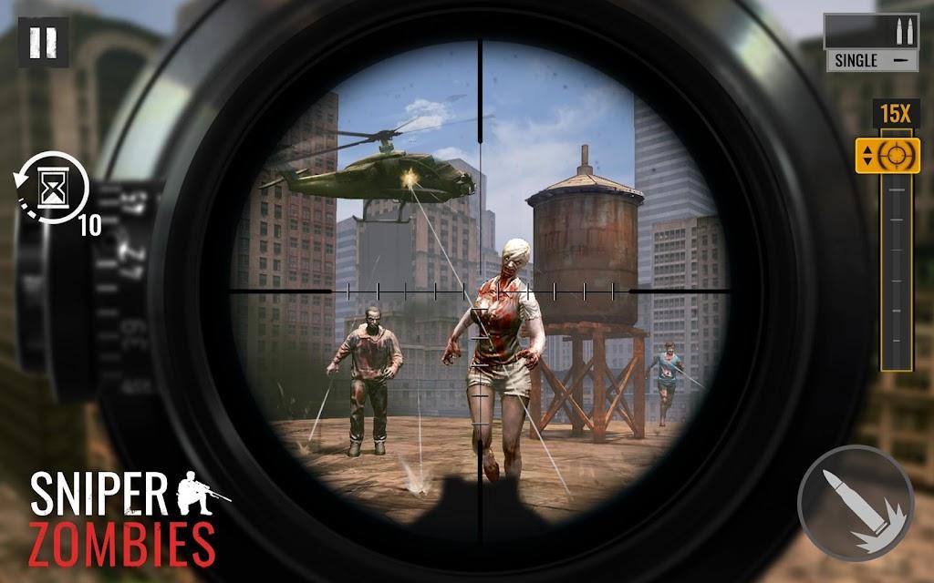 Sniper Zombies: Offline Games 3D  poster 7