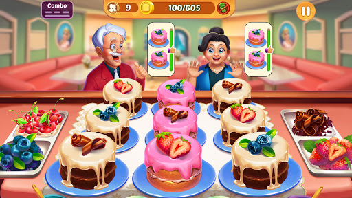 Cooking Crush: New Free Cooking Games Madness 1.2.9 screenshots 1