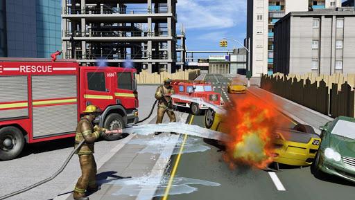 real hero firefighter 3d game screenshot 2