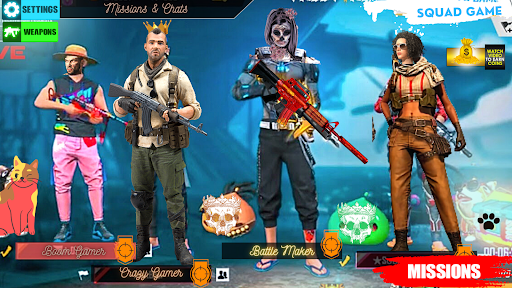 Squad Survival freefire Game Battleground Shooter 1.6 screenshots 7