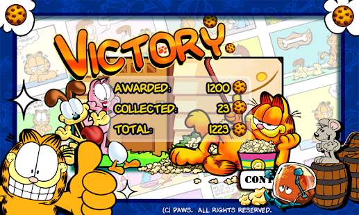 Garfield's Defense Screenshot