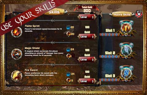 Kingdom Quest Crimson Warden 3D RPG 1.3 screenshots 4